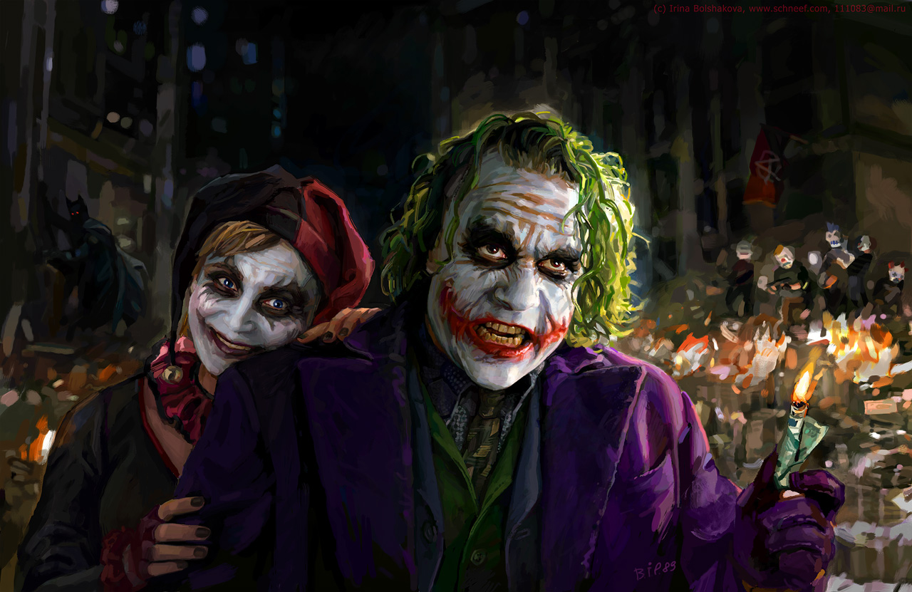 Joker and Harley Quinn (1440 x 900)